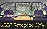 Filet Grille de séparation coffre Ergotech RDA65-M, pour chiens et bagage. Sûr,...