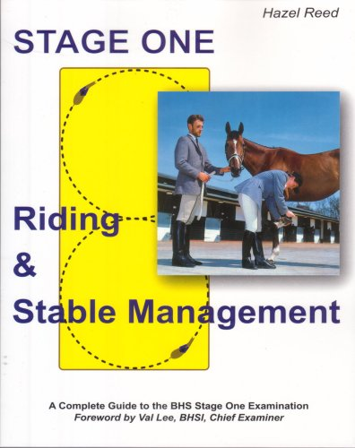 Riding and Stable Management: Stage One por Hazel Reed
