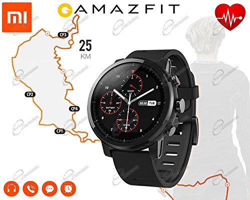Xiaomi Huami Amazfit Smart Watch Stratos 2 Sports Smartwatch With GPS PPG...