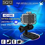SQ12 Mini Full HD 1080P DV Sport Action Kamera mit IR-Nachtsicht & Bewegungserkennung 32 GB Hidden Spy Kamera Auto DVR Video Recorder Camcorder
