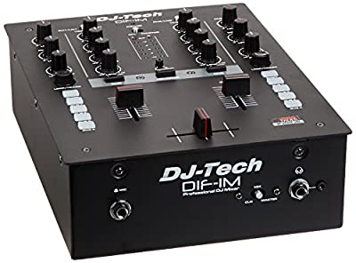 DIF-1M 2-Channel DJ-Mixer with INNOfader
