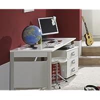 Preisvergleich für Kinderzimmer Schreibtisch Set »EMMA« 2-tlg in alpinweiß