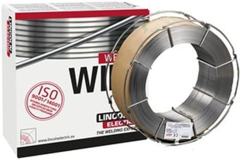 Lincoln Electric Electric Electric 900408 Outershield MC715-H in acciaio dolce, filo Flux Corosso in metallo, diametro 3,5 mm, bobina da 15 kg | Alla Moda  | La qualità prima  | Lascia che i nostri beni escano nel mondo  930084