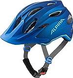Alpina Unisex Jugend Carapax JR. Fahrradhelm Blue 51-56 cm