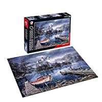 1000 Pieces Jigsaw Puzzle for Adults and 12+ Years Old Kids (STREET)