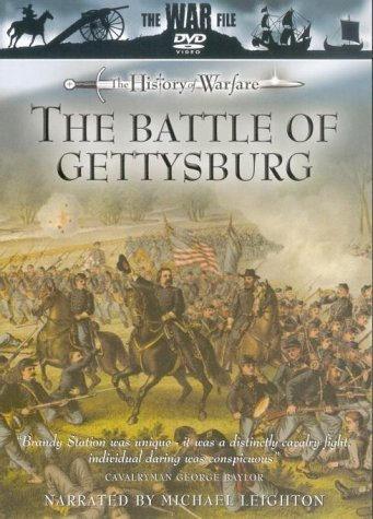 The Battle Of Gettysburg - The War File - The History of Warfare [DVD]