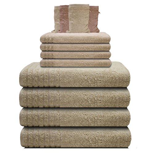 Gallant Frottee Handtuch-Set Handtücher-Set 6 tlg. creme-beige