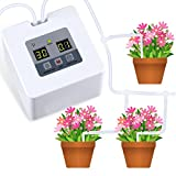 Micro Automatic Drip Irrigation Kit, Self Watering System with 30-Day Electronic Water Timer