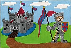 Tapis Design Enfant - Le Château Fort