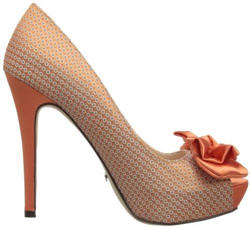 Menbur 58170r30, Peep-Toe femme Orange (Peach)