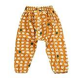 Brightup Eté Enfants Garçon Filles Bloomers Harem Pantalons Casual imprimés élastiques