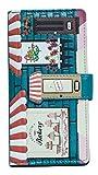 Shagwear Junge-Damen Geldbörse , Large Purse: verschiedene Farben und Designs: (Bäckerei Petrol/ Bakery)