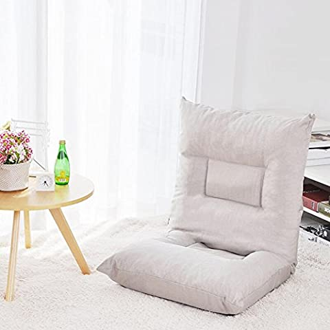 Liyongdong Folding Lazy Sofa a Person, Flannel and Cloth Two