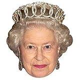 Star Cutouts - Stsmp152 - 6 Masques pour Adulte - La Reine Elisabeth - Taille Unique