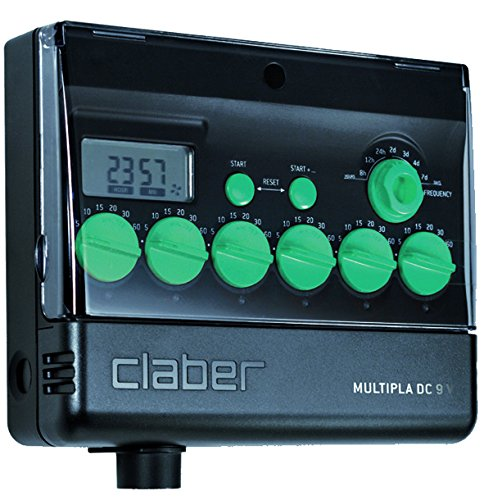 Claber Multipla Dc W/lcd Water Timer
