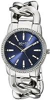 SO & CO New York 5071.2 - Reloj para mujeres, correa de acero inoxidable color plateado de SO & CO New York