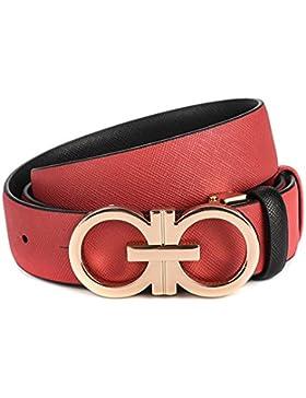 Señoras Anchura Cinturón,Elegante Cruzar Simple Cinturón Salvaje Cinturón Distribución Jeans Decoración Cinturón