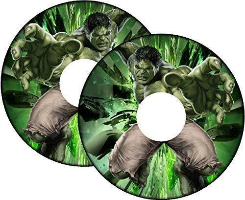 Rollstuhl Speichen Schutz Sticker Skins Hulk - 22