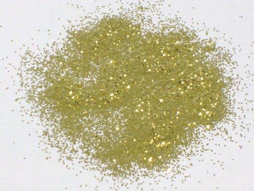 Glitter - GOLD - GELBGOLD - 100 g-Beutel - grob - Körnung: ca. 0,024