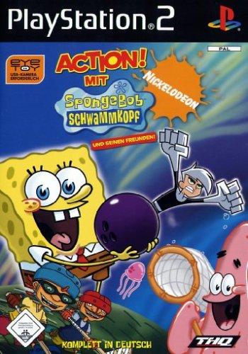 Action mit Sponge Bob und seinen Freunden (Software Pyramide)