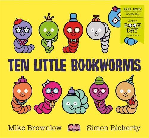 Ten Little Bookworms: World Book Day 2019