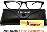ANEMONE Anti-glare Photochromatic UV 400 Protection Zero Power Computer Digital Screens TV Mobile