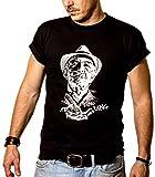 MAKAYA Camiseta Breaking Bad - Hector Salamanca - Negra M