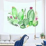 xkjymx Arazzo di Fenicotteri di Cactus 210622 200 * 150 cm
