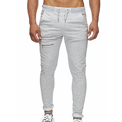 Chándal de Hombres Moda Pantalones de chándal de Hombre Pantalones Casuales para Hombres Running Yoga Pantalones Deportes