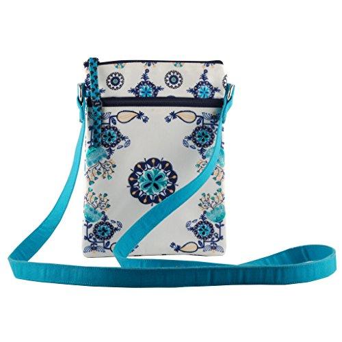 Pinaken Sling Bag Crossbody Purse Tote Canvas Shoulder Travel Bag Cell Phone/Mobile Bag for Women and Girls …