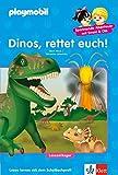 Dinos, rettet euch!: PLAYMOBIL Dinos - Lesen lernen - Leseanfänger (PLAYMOBIL Spannende Abenteuer mit Emmi & Ole)