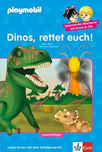 Preisvergleich Produktbild Dinos,  rettet euch!: PLAYMOBIL Dinos - Lesen lernen - Leseanfänger (PLAYMOBIL Spannende Abenteuer mit Emmi & Ole)