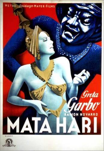 Vintage 1930 Kostüm - Posterlounge Alubild 90 x 120 cm: MATA Hari von Everett Collection