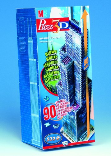 Hasbro - PUZZ 3D - Sears Tower (Sears Tower)