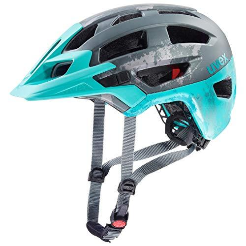 Uvex Finale 2.0 MTB Fahrrad Helm grau/blau 2019: Größe: 52-57cm