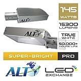 Best Street Licht wurde (£925)–Alt superhelle Pro LED Straßenbeleuchtung, 145W, 15.3001Lumen (Lichtausbeute von 105,5LM/W.), True White, 130º breit Abstrahlwinkel