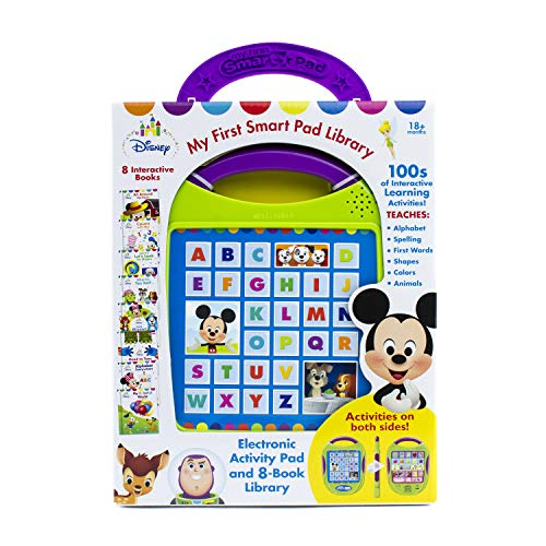 Disney Baby - Mickey, Minnie, Toy Story, and more! My First Smart Pad Electronic Activity Pad and 8-Book Library - PI Kids (Phoenix 4 Flugsimulator)