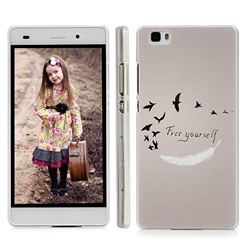 Fundas con frases de diseño para Huawei P8.