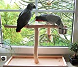 Tischfreisitz für Fensterbank, Papageien, Freisitz, Papageienspielzeug, Neuheit