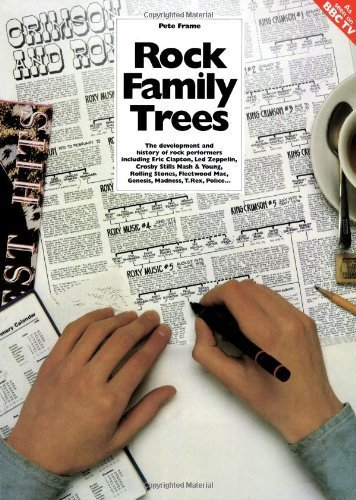 The Complete Rock Family Trees: the Development and History of Rock Performers including Eric Clapton, Crosby Stills Nash & Young, Led Zeppelin, ... Genesis, Madness, T.Rex, Police by Frame, Pete (1983) Paperback