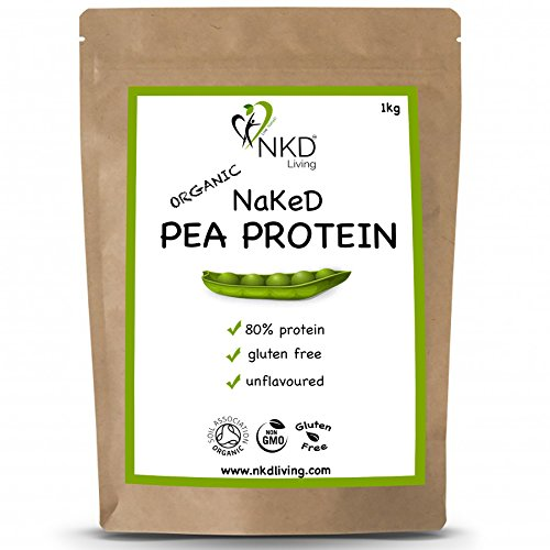 NKD Living Organic Pea Protein Powder | 1kg | Soil Association Organic Certified | Perfect Vegan Protein Source Test