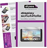 Garmin dezl 760 LMT-D Schutzfolie - 3x dipos Displayschutzfolie Folie klar