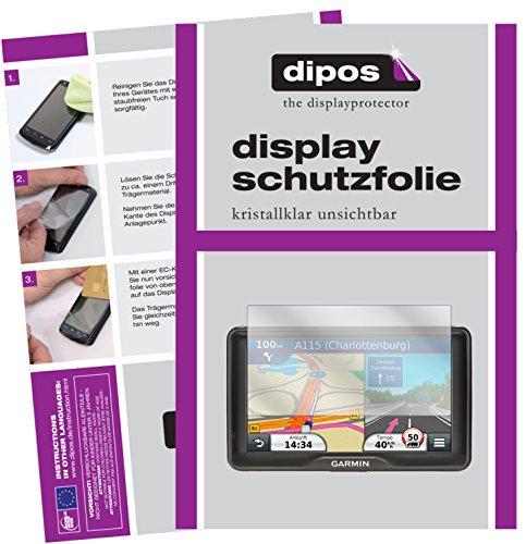 Garmin dezl 760 LMT-D Schutzfolie - 3x dipos Displayschutzfolie Folie klar (Garmin 760 Zubehör)