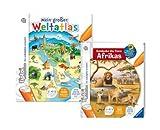 Tiptoi Buch Entdecke die Tiere Afrikas 005895 und Mein großer Weltatlas 9120055081241