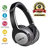 Headphones Over Ear,Bluetooth Noise Reduction Headphones Wireless Foldable Headset Wired Headphones, Stereo Headphones Bluetooth Headset with Mic for PC/Cell Phones/TV (30 Hrs Battery Life)