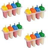 SIDCO ® 16 x Stieleisform Eis Stieleis Eisformer Stieleisformer Eisform Eismaker