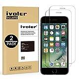 iVoler [2 Pack] Pellicola Vetro Temperato per iPhone 8/7 / 6S / 6 [Garanzia a Vita], Pellicola Protettiva, Protezione per Schermo