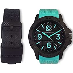 Barcelonetas Sport AQUA-BLACK Unisex watches W01AQ