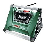 Bosch DIY Akku-Radio PRA Multipower, ohne Akku, Aux-In Kabel, Netz-Adapter, 2x AAA Batterien (18V, Radiofrequenzbereich AM  522 - 1.611 kHz)