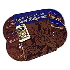 Card College 1&2 (4 DVD Set) by Roberto Giobbi - DVD